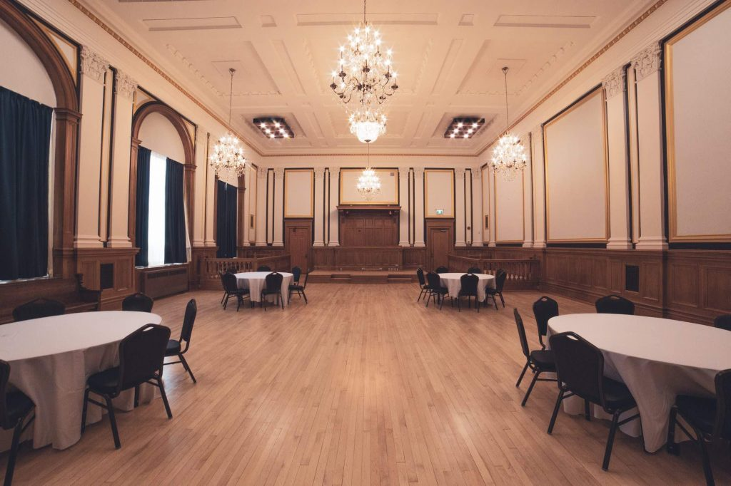 The Courthouse Hotel Thunder Bay with the old courtroom now a ball room