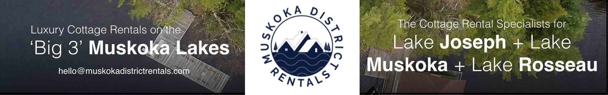 Muskoka District Cottage Rentals Ad