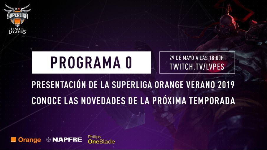 Conoce las novedades de la próxima Superliga Orange el 29 de mayo
