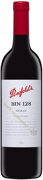 2012 Bin 128 Coonawarra Shiraz, Penfolds, South Australia