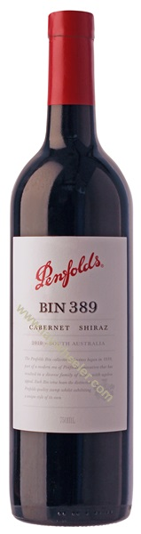 2011 Bin 389 Cabernet/Shiraz, Penfolds, South Australia