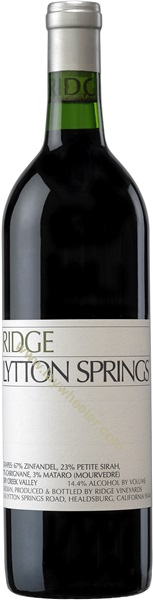 2018 Lytton Springs, Ridge Vineyards, Dry Creek Valley