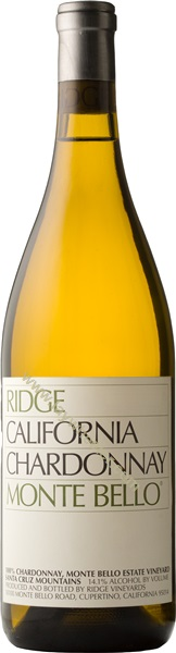 2011 Ridge Vineyards Monte Bello Chardonnay, Santa Cruz Mountains