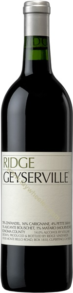 2018 Geyserville, Ridge Vineyards, Sonoma County