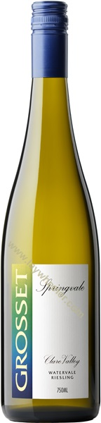 2018 Springvale, Riesling Watervale, Grosset, Clare Valley