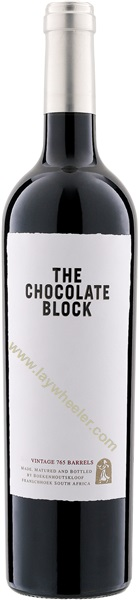 2017 The Chocolate Block, Boekenhoutskloof