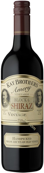 2006 Kay Brothers Amery Vineyards Block 6 Shiraz, McLaren Vale, Australia