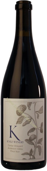 2014 Cerise Pinot Noir, Knez Winery, Anderson Valley