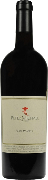 2014 Les Pavots Estate Cabernet, Peter Michael, Knights Valley