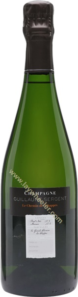 2016 Chemin des Chappes Extra Brut, Guillaume Sergent