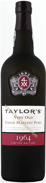 1964 Taylor's Very Old Single Harvest Port, Limited Edition