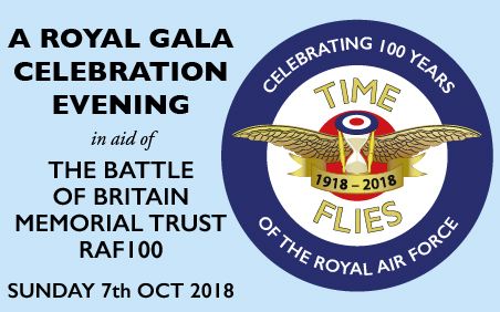 Buy tickets for 'Time Flies' a unique Royal Gala evening for 100 years anniversary of the RAF at Theatre Royal Drury Lane.