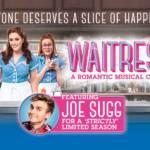 Waitress London artwork with Joe Sugg