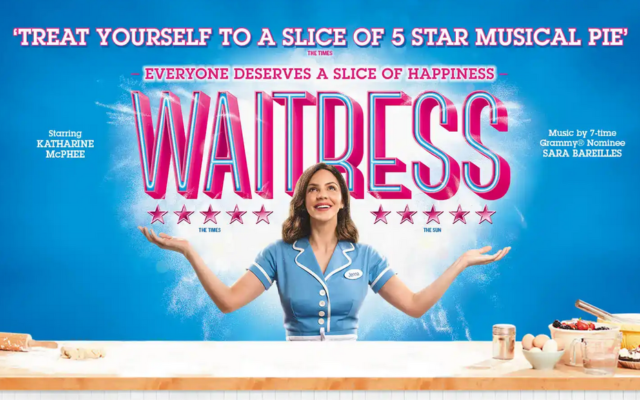 waitress book theatre tickets london