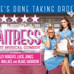 Ashley Roberts, Lucie Jones and Marisha Wallace in Waitress musical
