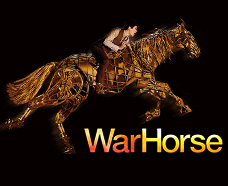 2009 War Horse at the former New London theatre, now renamed as Gillian Lynne theatre in London West End