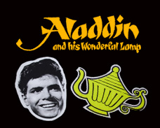 1964 Aladin the theatre show live at The London Palladium in London's West End.