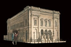 1812 Theatre Royal Drury Lane in London's West End.