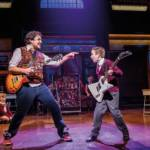 Noel Sullivan in School of Rock musical at the Gillian Lynne Theatre London October 2019