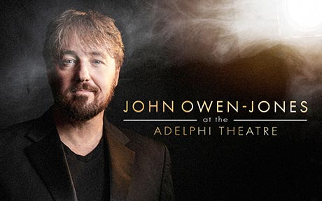 John Owen Jones at the Adelphi Theatre small