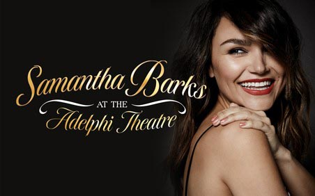 Samantha Barks at the Adelphi Theatre