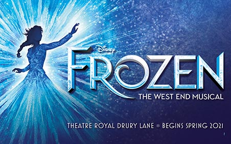 Frozen the Musical London small
