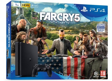 Sony PlayStation 4 Slim 1ΤΒ & Far Cry 5