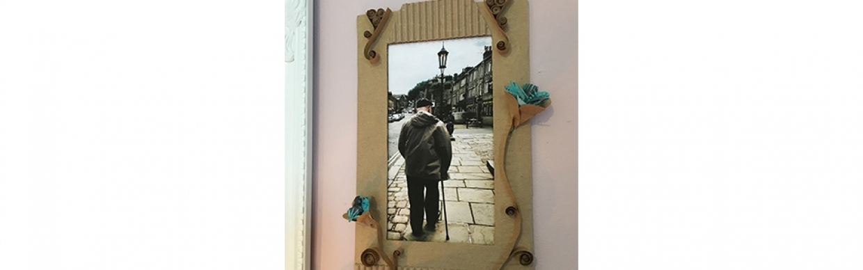 Re-Craft: Cardboard & Paper DIY Projects - Picture Frames | mac ...