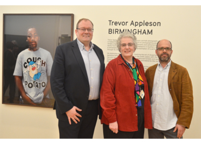 Darren Henley (ACE), Dorothy Wilson & Trevor Appleson