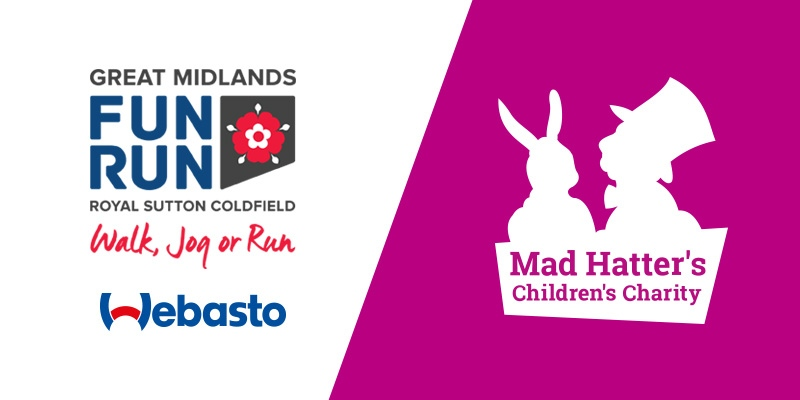 Mad Hatter's Great Midlands Run 19 Logos
