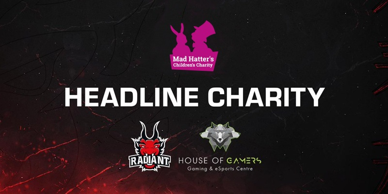 Mad Hatter's House of Gamers Radiant Logos