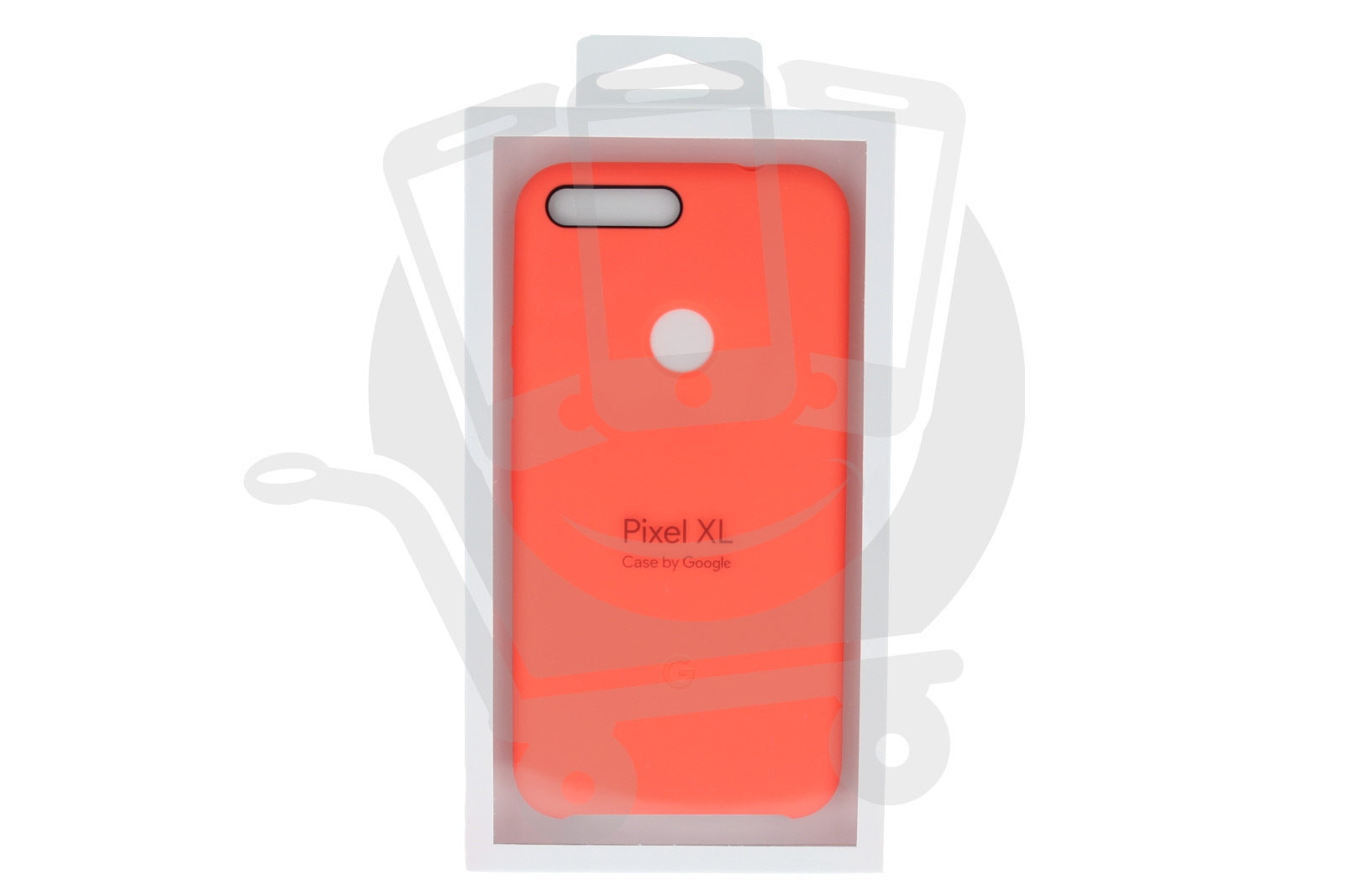 new style 082e7 584e8 Details about Official Google Pixel XL Coral Silicone Case / Cover -  GA3C00418-A00