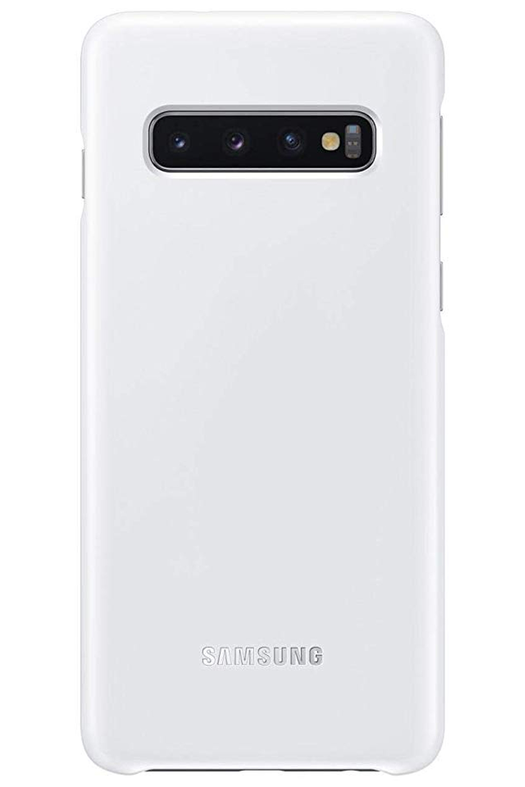 Details about Official Samsung Galaxy S10 Plus White NFC Powered Back Cover  / Case - EF-KG975C