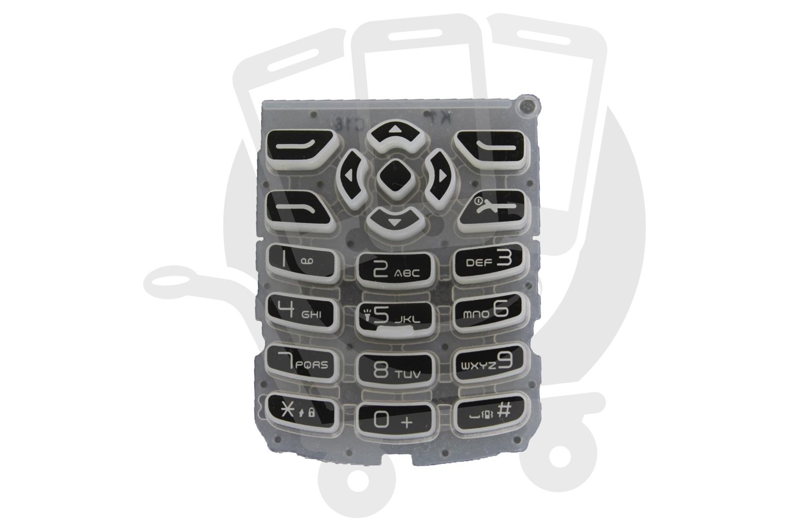 genuine alcatel one touch ot 105 ot 108 white keypad bfa217aaa101 rh ebay com