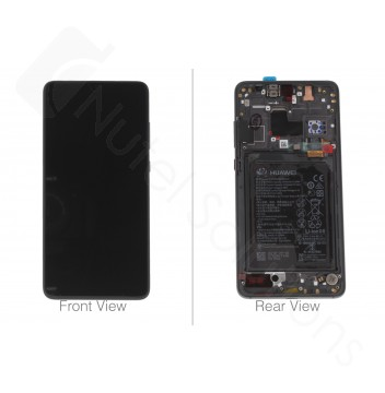 Official Huawei Mate 20 Black LCD Screen & Digitizer with Battery - 02352ETG