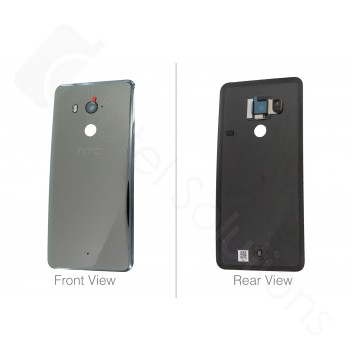 Genuine HTC U11+ Ceramic Black Rear Glass / Battery Cover - 74H03462-03M