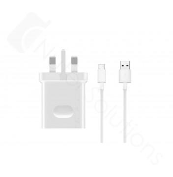 Genuine Huawei 4.5Amp White Type C Mains SuperCharge - HW-050450B00 & 4071263