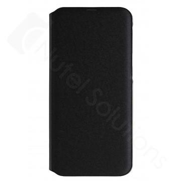 Official Samsung Galaxy A40 SM-A405 Black Flip Wallet / Case - EF-WA405PBEGWW