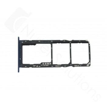 Genuine Huawei Y7 (2019) Black Sim & Memory Card Tray - 51661LCF