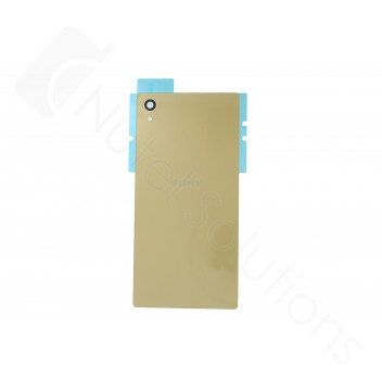 Genuine Sony Xperia Z5 E6653, Xperia Z5 Dual Sim E6683 Gold Rear / Battery Cover - 1295-1378