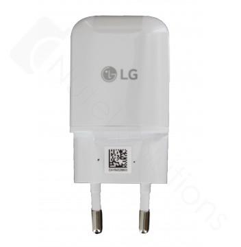 Genuine LG MCS-H05EP 1.8Amp White USB Mains Charging Adapter - EU