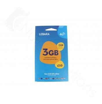 Lebara Triple Pre Pay SIM Card - 13% 6 Months Revenue Share