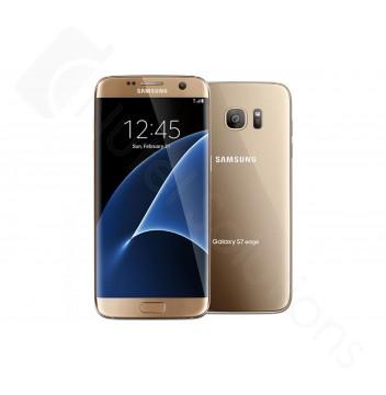 Samsung Galaxy S7 Edge G935 32GB Gold Sim Free / Unlocked Mobile Phone - A-Grade