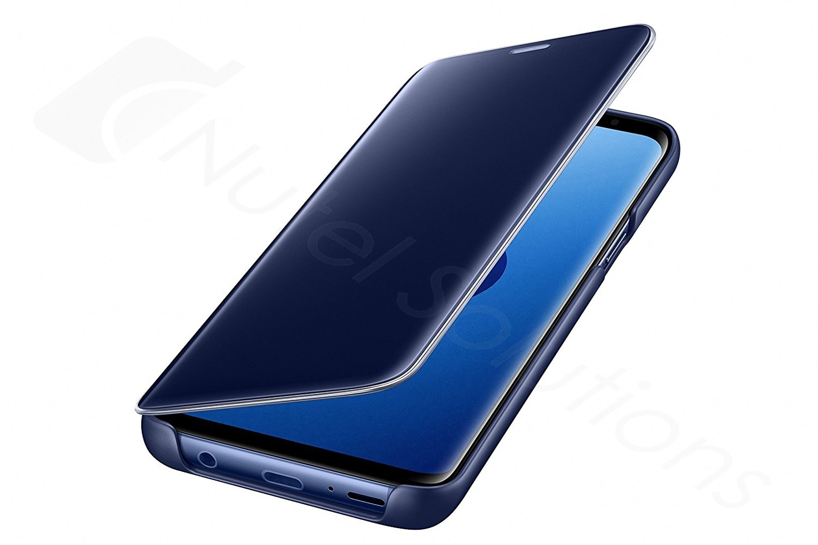 official samsung galaxy s9 blue clear view cover case. Black Bedroom Furniture Sets. Home Design Ideas