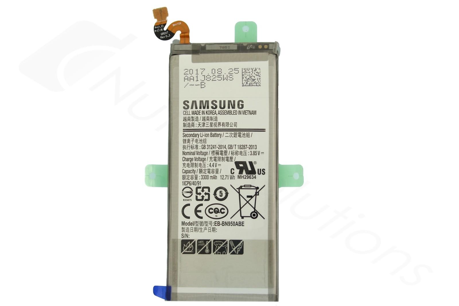 3300mah Samsung 8 Battery Genuine - N950 Gh82 Galaxy Internal Note