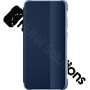 Official Huawei P20 Deep Blue Smart View Flip Case / Cover - 51992359