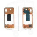 Genuine Samsung Galaxy A40 SM-A405 Coral Middle Cover - GH97-22974D