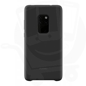 Official Huawei Mate 20 Black Silicone Car Case - 51992615