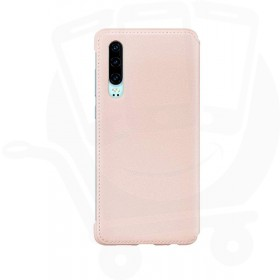 Official Huawei P30 Pink Flip Wallet Case / Cover - 51992856