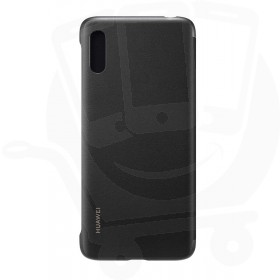 Official Huawei Y6 2019 Black Flip Case / Cover - 51992945